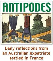 Antipodes blog